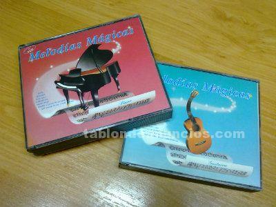 VENDO CDs ORIGINALES CON CANCIONES AL PIANO Y A LA GUITARRA