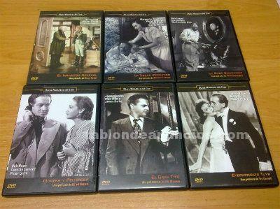 Vendo peliculas en dvd de obras maestras del cine