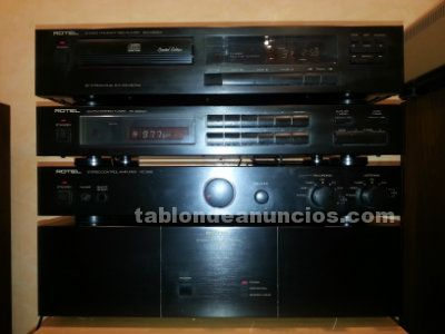 Equipo rotel serie 900 vintage