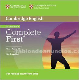 Cds audios first cambridge english
