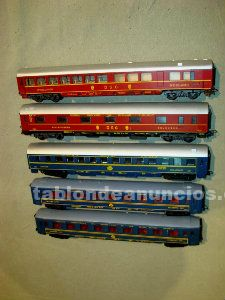 Trenes : 5 coches escala h0