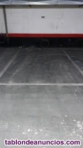 Traspaso plaza de garage
