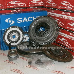 Kit de embrague + volante bimasa vw golf iv 130 cv motor asz