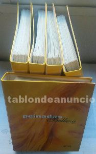 """Colección """"Peinados y Belleza"""", 5 Archivadores, ¡Super rebajada!"""