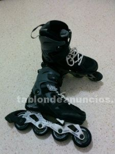 Patines oxelo negros extensibles tallas 37-40