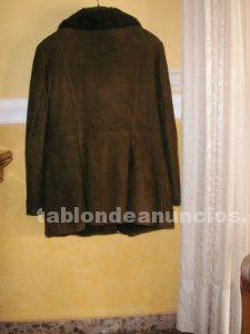 Venta chaqueton de señora, de piel marron, talla 44