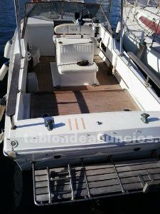 Lancha motor infra borda pesca. Windy boats