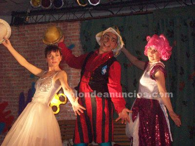 Teatro musical infantil-familiar, a la carta