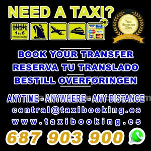 Transfers and pick-ups alc/mjv - book your shuttle service taxis drosje.es