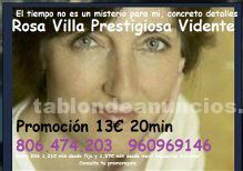 Vidente precisa fechas. 806 474 203. Medium rosa, 13€