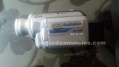Video cámara jvc gz-mg20e