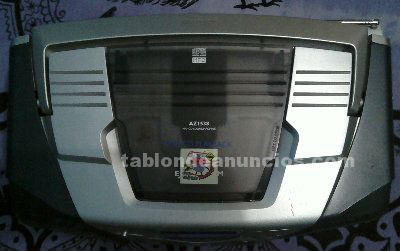 Vendo radio marca philips con lector cds mp3