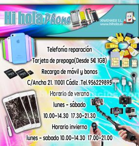 Reparacion y venta de moviles y tablets