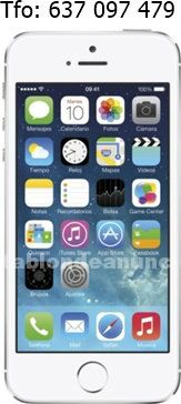 Iphone 5s 16gb blanco libre