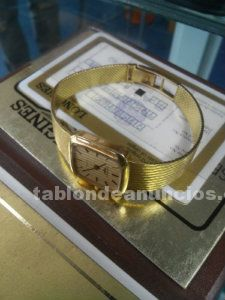 Reloj longines oro