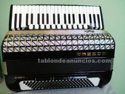 Hohner atlantic iv n de luxe, impecable