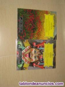 2 cd de verdi+ 2 cd de vivaldi