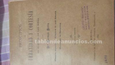 Libro de1897 primera edicion firmado por la autora