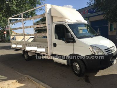 Chasis cabina iveco abierto