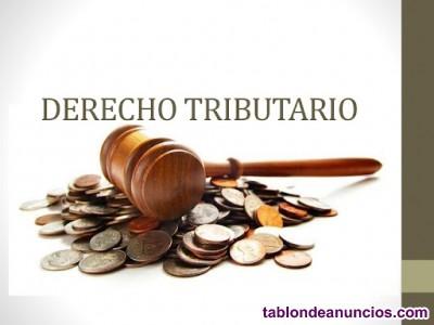 Clases particulares de derecho tributario