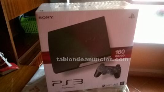 Vendo caja playstation3 slim