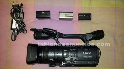Camara video profesional sony hdr-fx1e