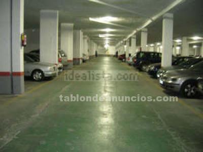 Alquilo plaza para coche sin columnas, gran  pasillo,...vigilancia 24h.