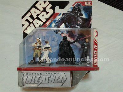 Star Wars battle packs unleashed tantive IV (4 figuras)