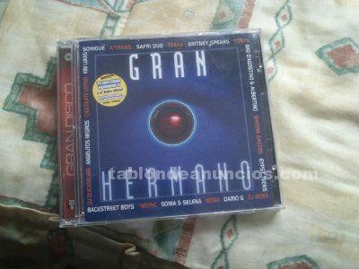 Doble cd de gran hermano