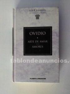 Arte de amar y Amores de Ovidio