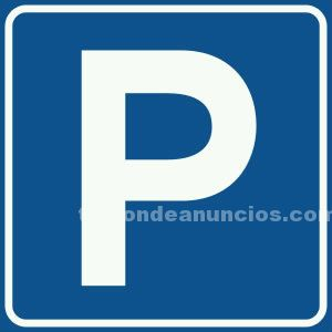 Alquilo parking coche mediano