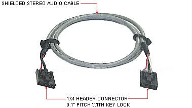 Cable de audio para cd/dvd