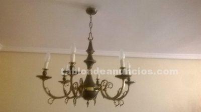 Lámpara salón de 6 brazos 30€