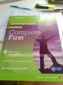 Libro b2 complete first 2ª edition 2015