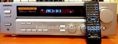 Amplificador audio/video kenwood krf-v4070d 5.1