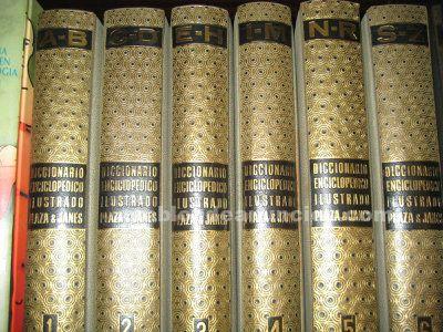 Diccionario enciclopedico ilustado plaza&janés de 6 tomos