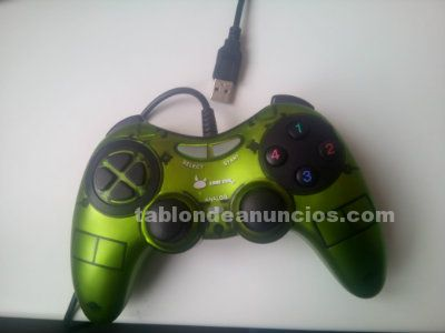 Gamepad usb con cable para pc