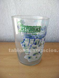 Vaso de sidra souvenir asturias