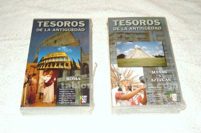 Pack 2 documentales historia vhs