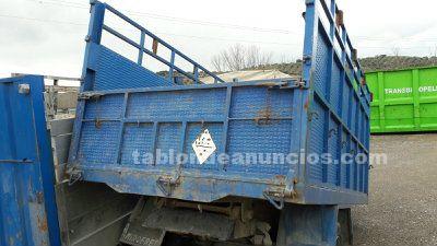 Caja para camion con basculante