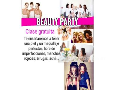 Beauty party totalmente gratuita