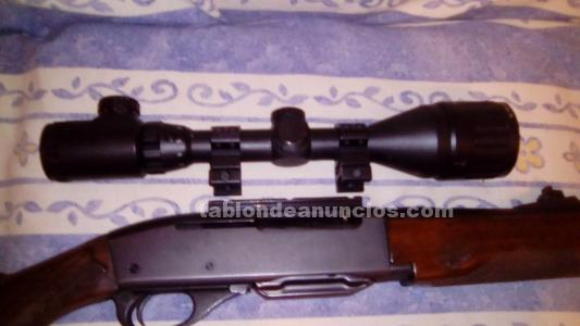 Vendo rifle con visor