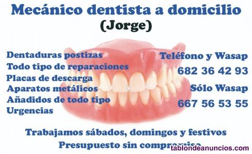 Protesis dentales a domicilio