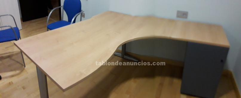Tabl n de anuncios com mobiliario oficina con fotos - Material oficina segunda mano ...
