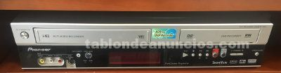 REPRODUCTOR COMBO VHS Y DVD