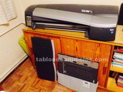 Plotter hp y cartuchos