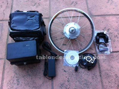 KIT PARA ADAPTAR BICICLETA A ELECTRICA