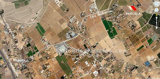 Fantástica parcela 5500 m². Purias. Lorca