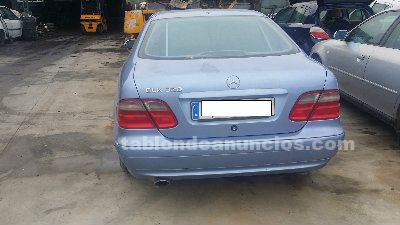 Despiece mercedes clk 320