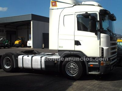 SCANIA, CAMION TRACTORA SCANIA 480.